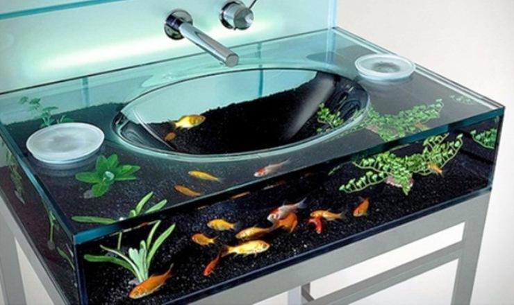 aquarium aneh tapi nyata